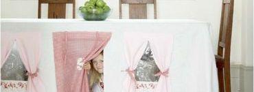DIY: Obruso-namiot dla dzieci