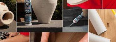 Kleje uszczelniające Fix ALL – łatwe i szybkie klejenie różnych powierzchni