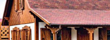 Gonty bitumiczne materiałem na pokrycie dachu