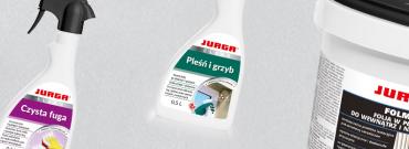 Środki czyszczące Jurga – skuteczny sposób na pozbycie się uporczywych zabrudzeń