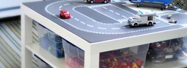 DIY: Stół na klocki dla Twojego dziecka