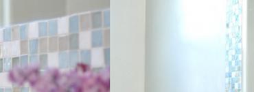 Lustro łazienkowe z mozaiką