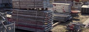 Zagospodarowanie placu budowy - podręczne kompendium o przechowywaniu materiałów