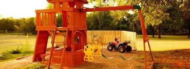 Jak zrobić przydomowy plac zabaw bez wydawania fortuny?