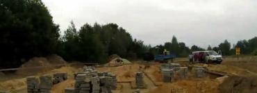 Time-lapse z budowy domu jednorodzinnego