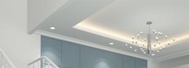 Jak zrobić sufit podwieszany z oświetleniem LED krok po kroku?