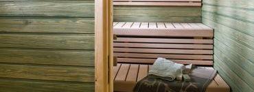 Piękna i zadbana sauna z Tikkurila