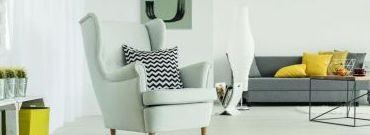 Jak stworzyć modny salon w odcieniach bieli?