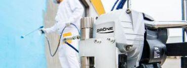 Dlaczego agregaty malarskie marki GRONE zwiększają wydajność pracy?