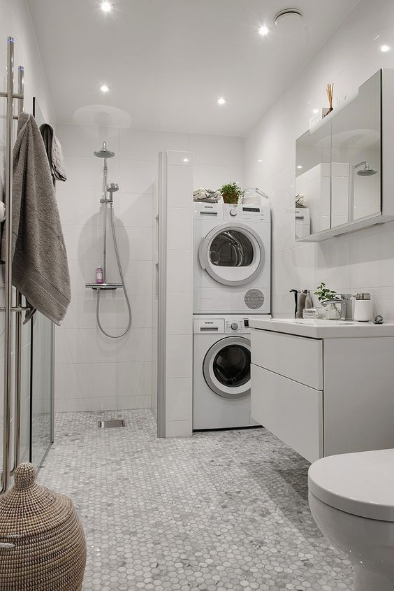 Zabudowa Pralki W łazience Galeria 15 Pomysłów Projektantów