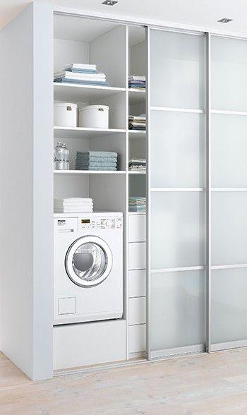 Zabudowa pralki w azience galeria 15 pomys w for Puerta lavadero