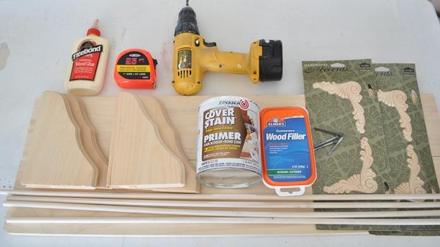 supplies-for-bracket-shelves