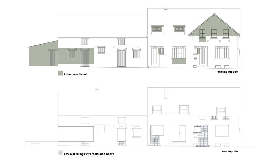 przebudowa stodoły - projekt