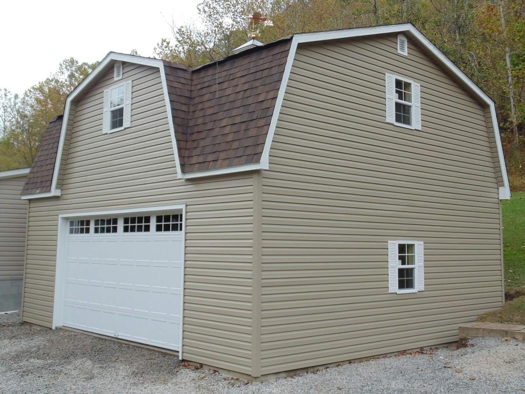 garaż w bryle domu