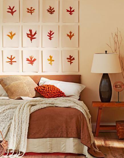 Dekory w sypialni