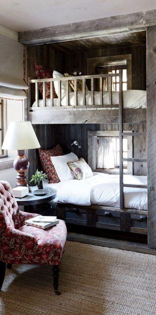 Piętrowe łóżka