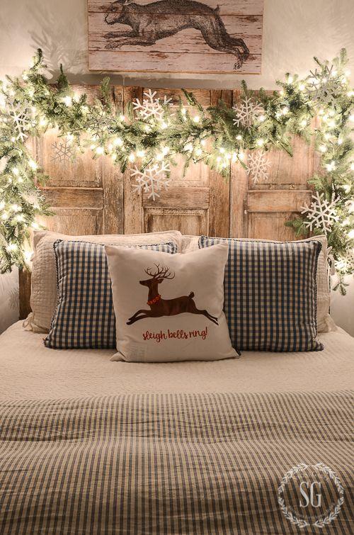 Świąteczna sypialnia