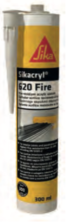 Sikacryl® -620 Fire – uszczelniacz ogniochronny do spoin liniowych i przejść (tz)