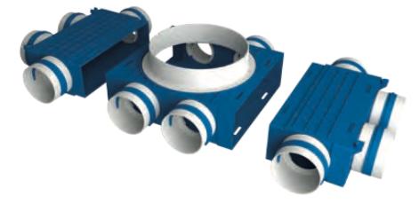 Ventiflex® Plus – modułowy system kształtek wentylacyjnych (uzw)