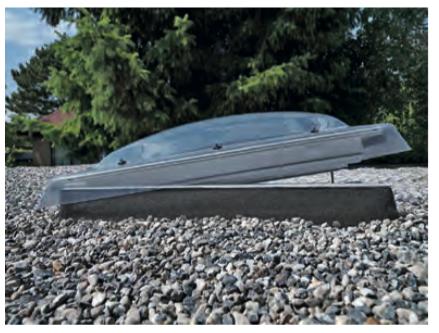 Antywłamaniowe okna do płaskiego dachu (tuz)