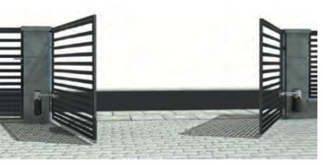 Automatyka do bram dwuskrzydłowych i przesuwnych (tuz)