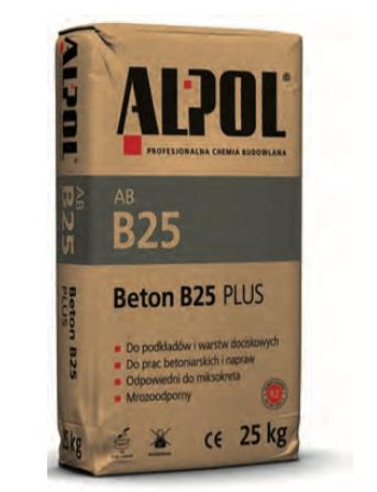 Beton AB B25 Plus (tz)