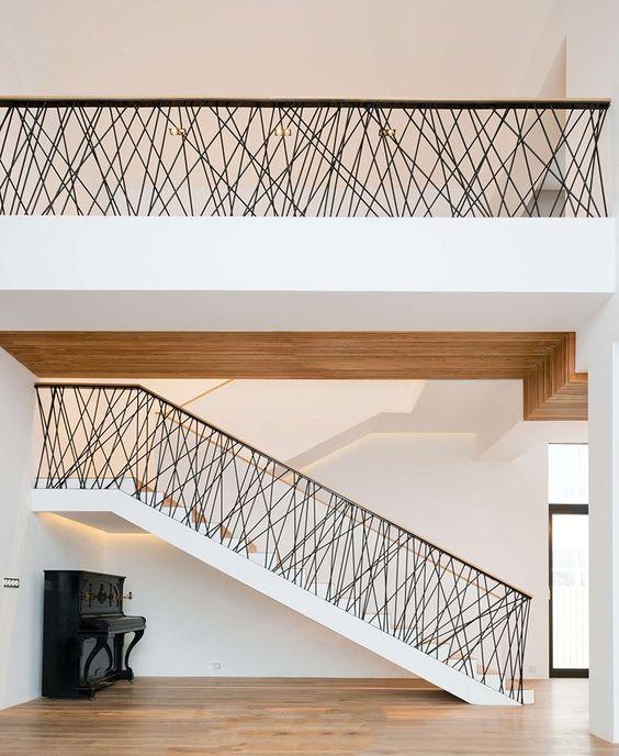 Abstrakcyjna balustrada